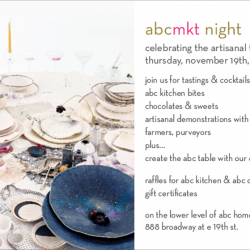 ABC Mkt Night on Thursday November 19